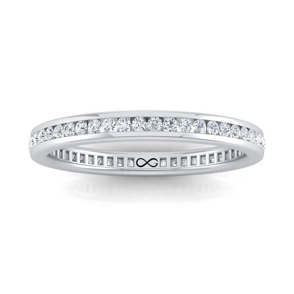 STARS IN CHANNEL SET ETERNITY BAND (1.25ct)