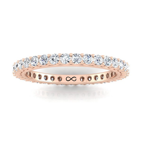 PETITE V SHARED STAR ETERNITY BAND (1.00ct)
