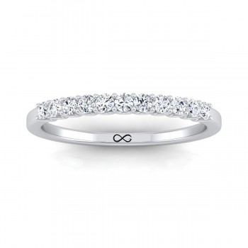 DEEP U CUT FULL MOON THIRD BAND (0.14ct)