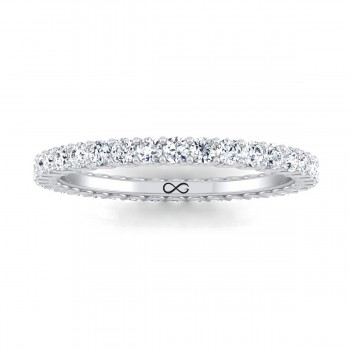 PRE-CUT MICRO U SET WANING ETERNITY BAND (0.75ct)