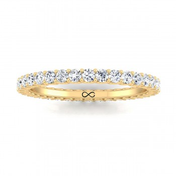 PRE-CUT MICRO U SET WANING ETERNITY BAND (2.25ct)
