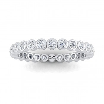 BEZEL SET MOON ETERNITY BAND (0.67ct)