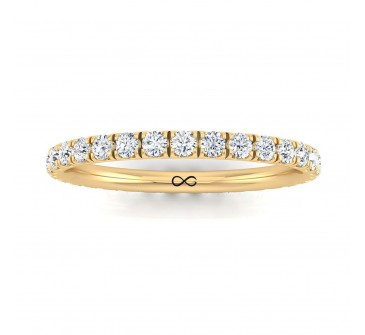 PRE-CUT MICRO U SET WANING ETERNITY BAND (2.50ct)